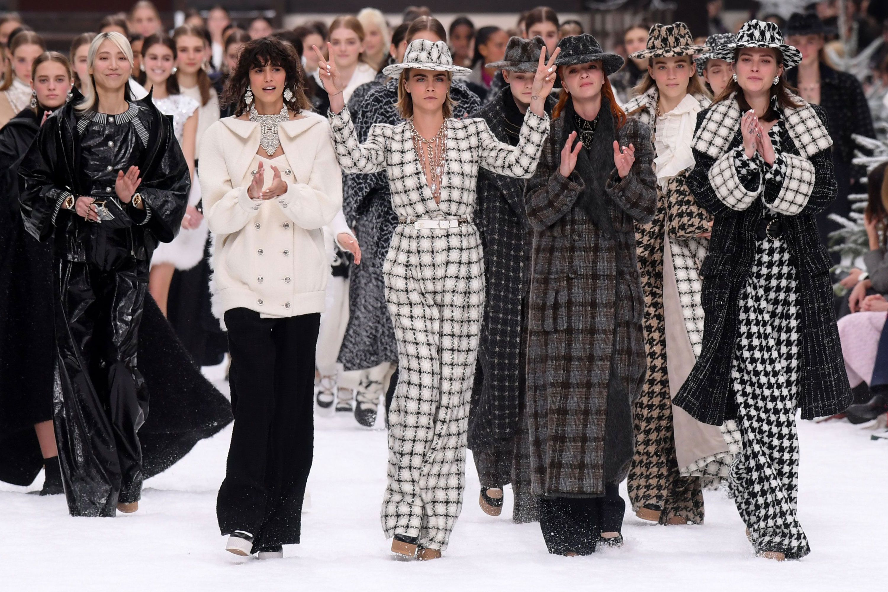 Chanel made £9 billion in Lagerfeld's final year at the fashion house