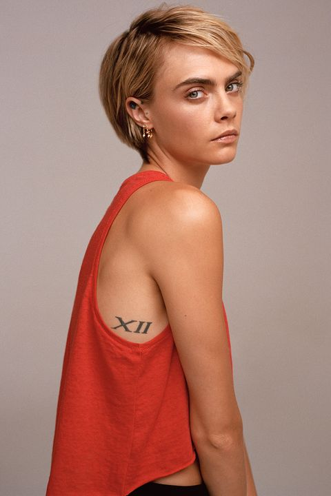 Cara Delevingne for Rimmel's I Will Not Be Deleted campaign