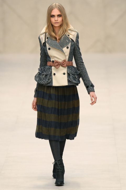 burberry prorsum london fashion week aw 2012   runway