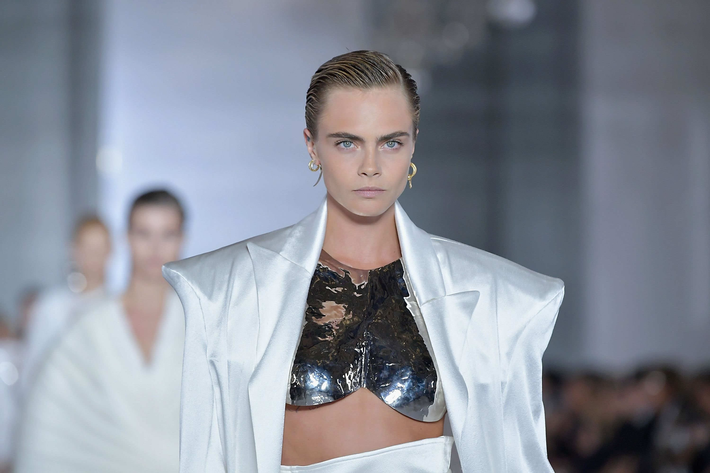 bd47451447 Cara Delevingne gets naked for Balmain campaign video