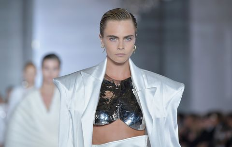 Cara Delevingne Gets Naked For Balmain Campaign Video