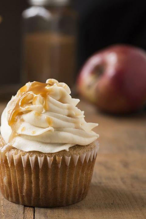Caramel Apple Cupcake Horizontal