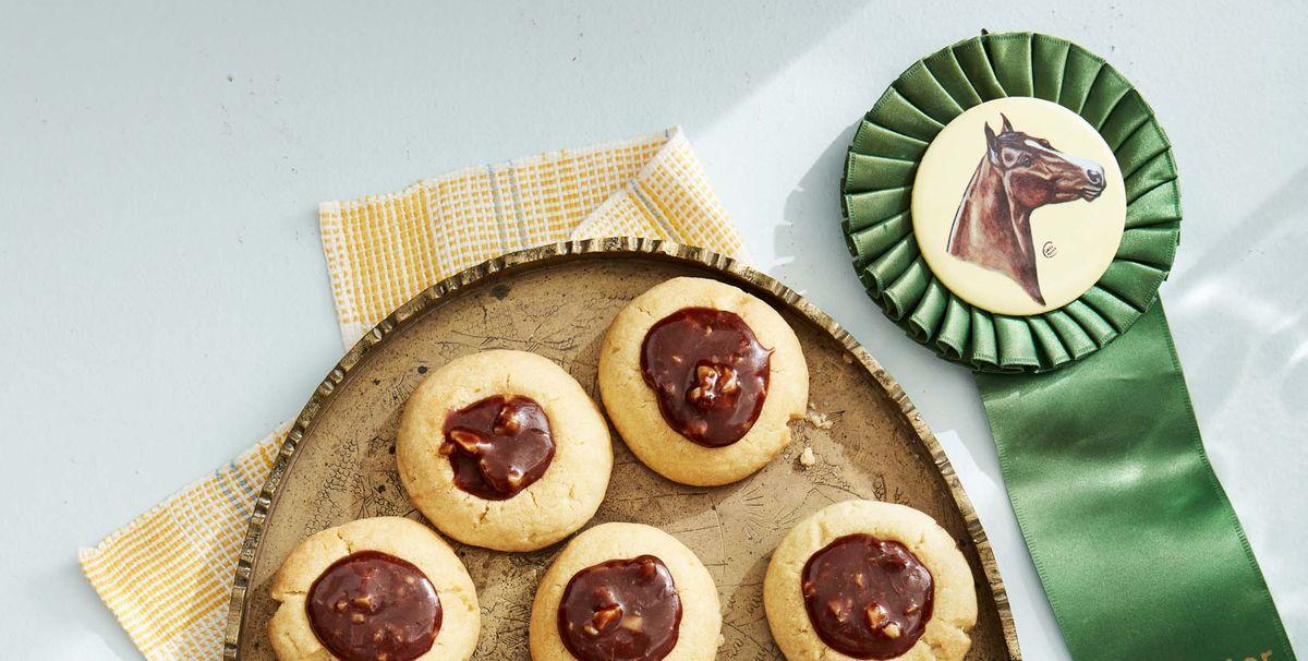 Caramel-Chocolate-Walnut Thumbprint Cookies