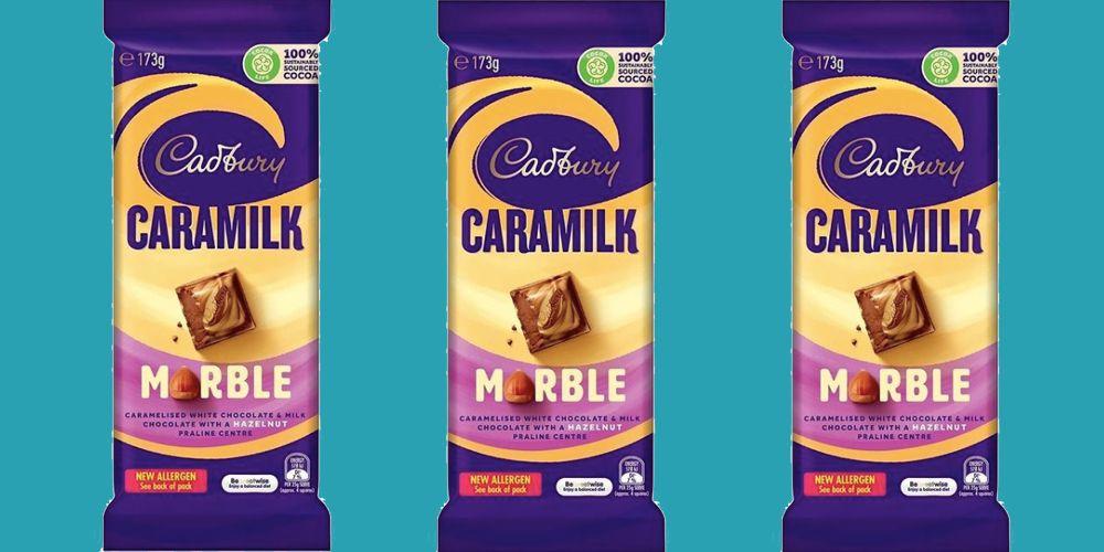 Caramilk Marble Chocolate Bars Exist