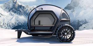 The North Face y BMW crean esta caravana extrema de alta montaña