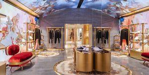 Descubrimos el fresco digital en una tienda de Dolce & Gabbana