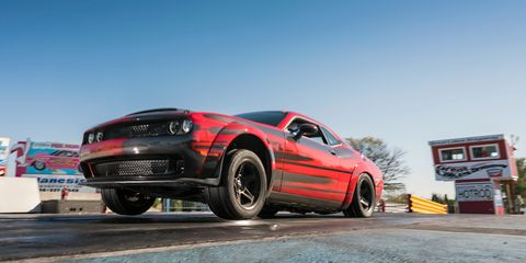 This Carbon Fiber Bodied Dodge Demon Is The Lightweight Drag Racer