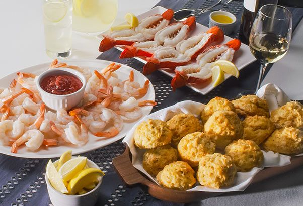 Red Lobster Party Platters Are Available Via Delivery