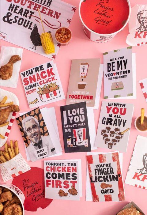 kfc valentines day cards