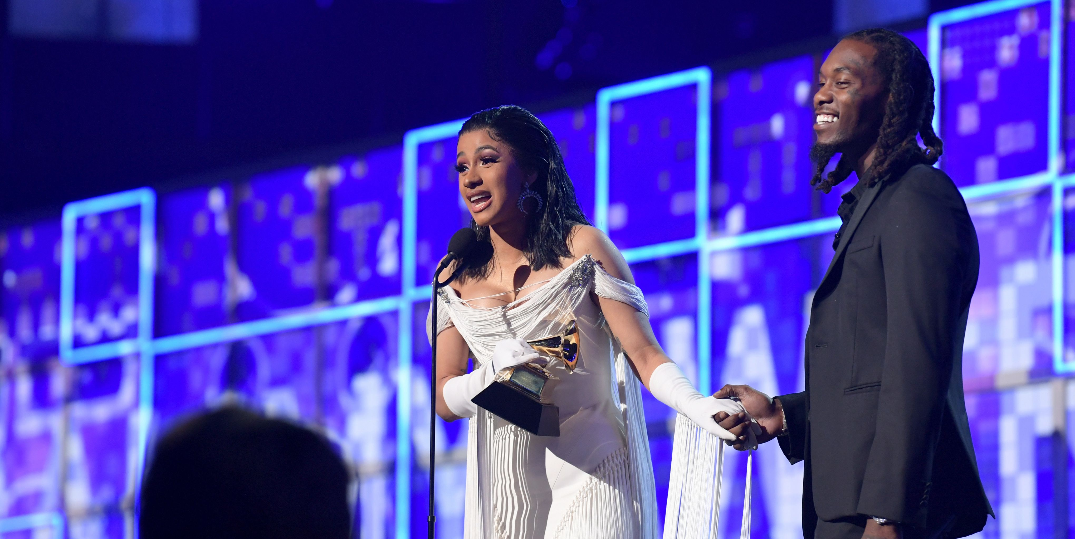 Cardi B Made History With Her Grammy Win, and Her Speech Is the Best