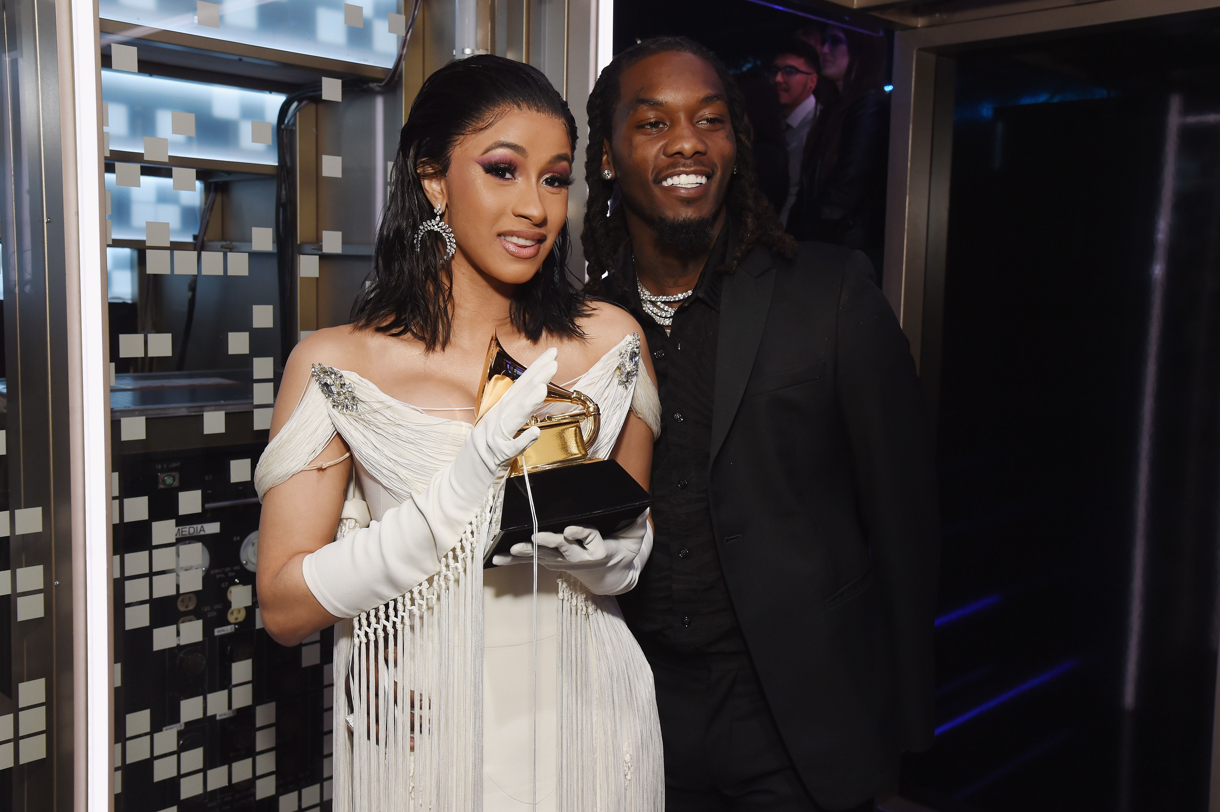 Offset Shares Personal Video Of Cardi B Giving Birth To