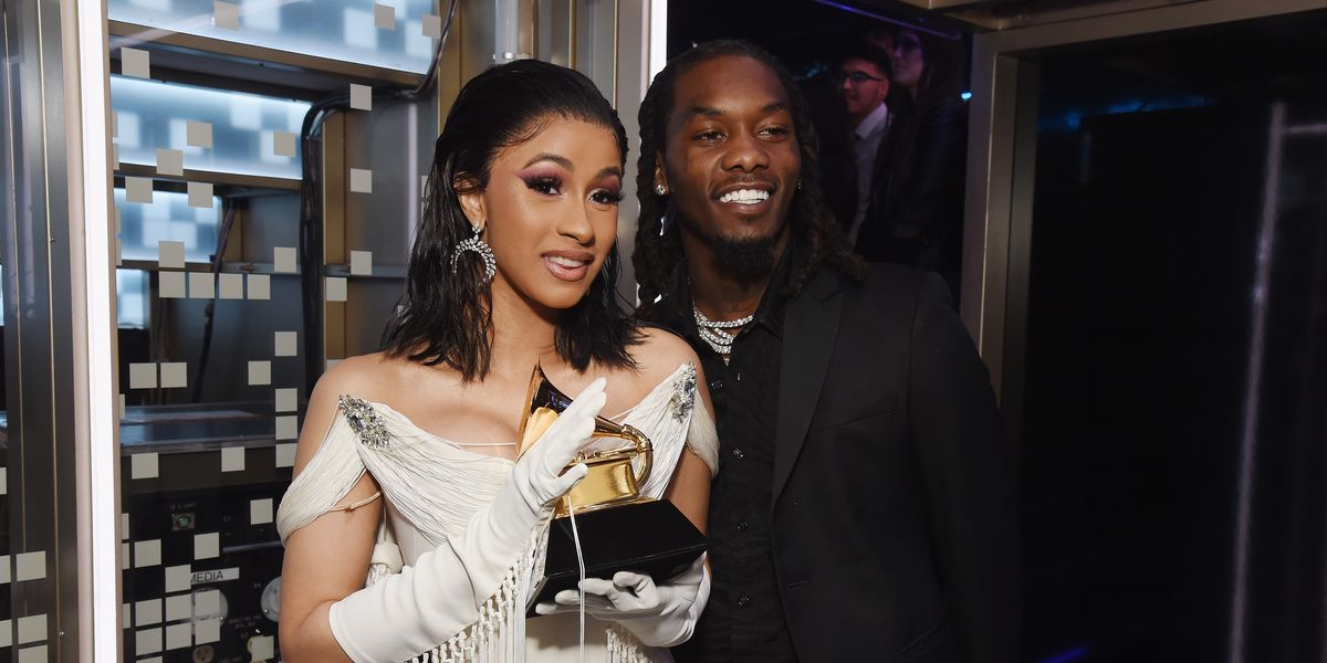 Cardi B Gives Offset A Lap Dance Onstage At Bet Awards: Video Of Cardi B Giving Birth To Daughter Kulture Shared