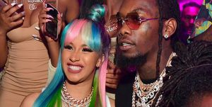 Cardi B and Offset at Birthday Celebration For Pierre Thomas