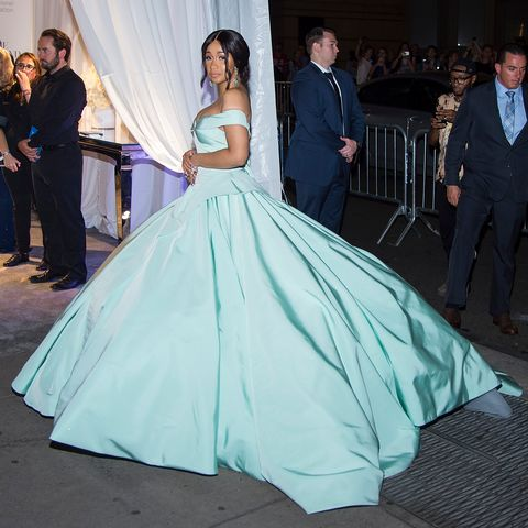 Cardi B attends the 2017 Diamond Ball at Cipriani Wall Street in Tribeca on September 14, 2017 in New York City.
