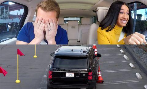 Cardi B Talks Cars On James Corden S Carpool Karaoke