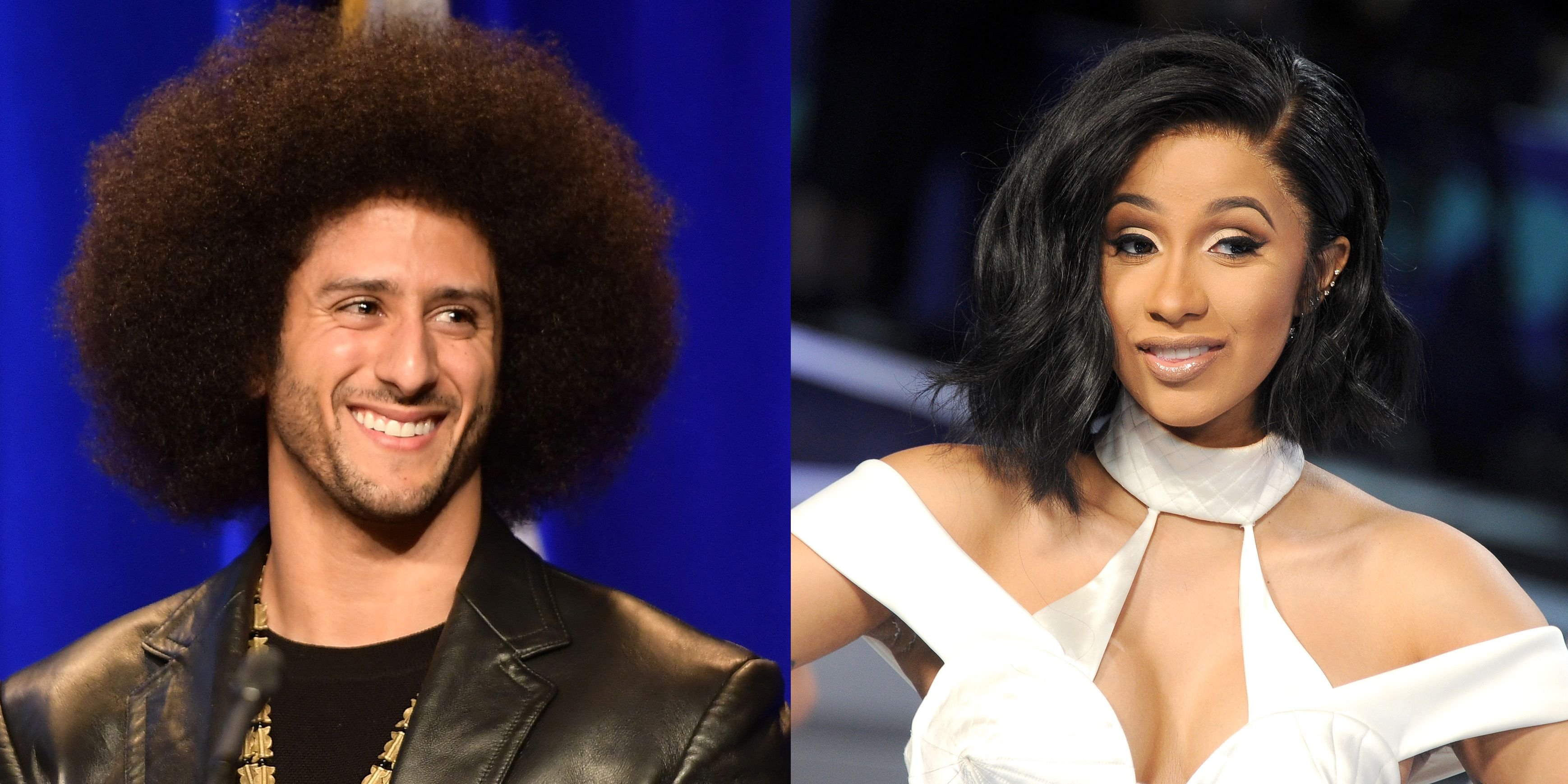 Cardi B has said she would not perform at Super Bowl show unless Colin Kaepernick is hired