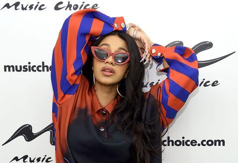 Cardi B Visits Music Choice