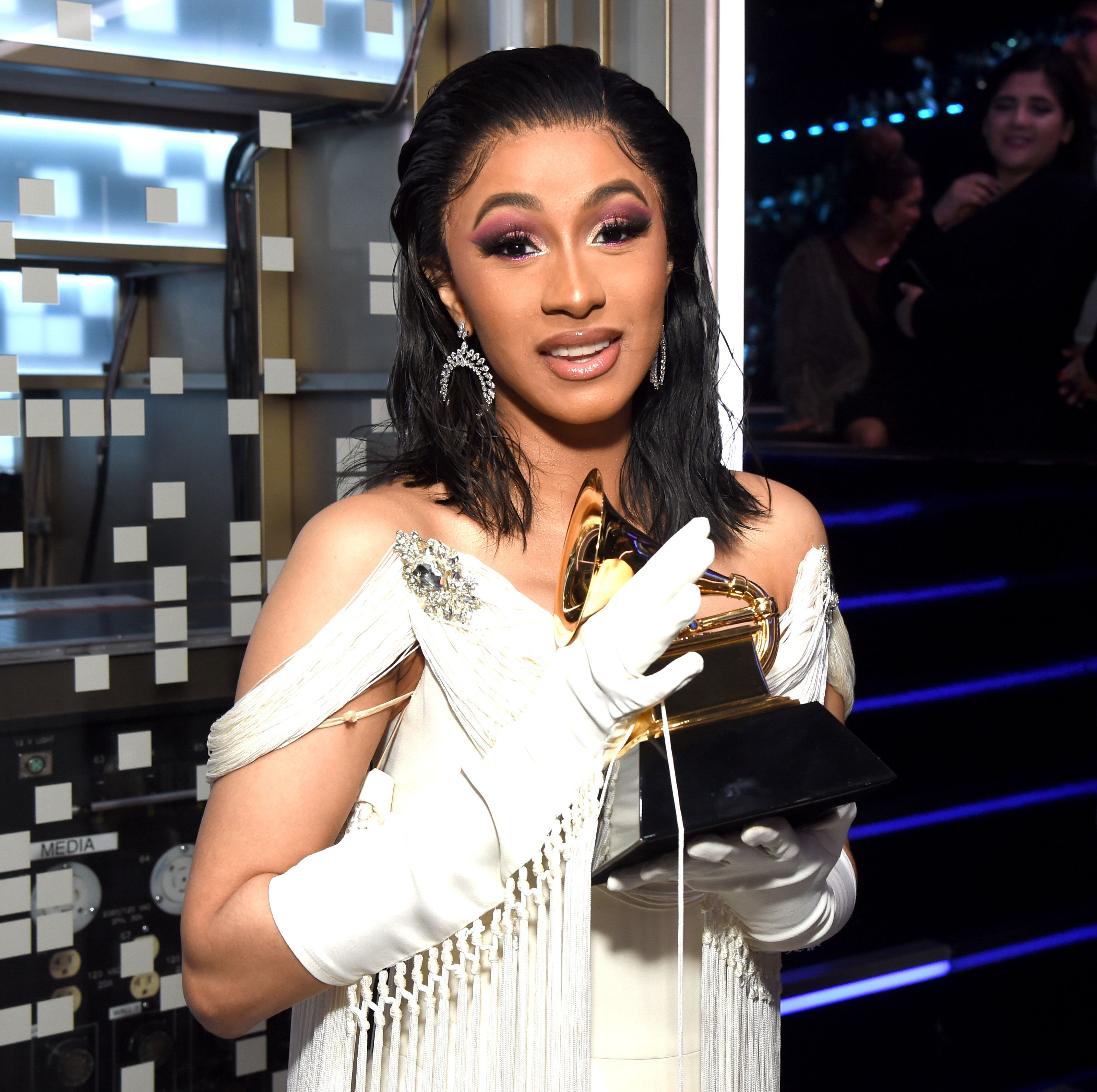 Cardi B with Her and Mac Miller's Grammy