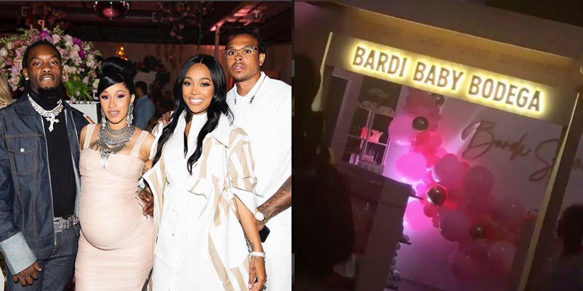 Cardi B S Bronx Fairy Tale Themed Baby Shower Had A Baby Bodega