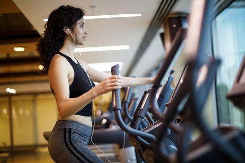 Cardio treinamento na academia