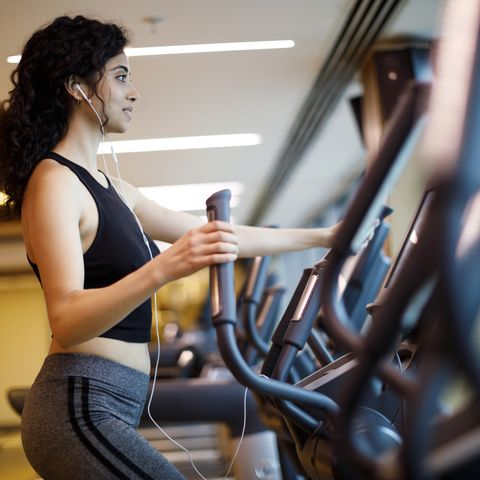 cardio training at the gym