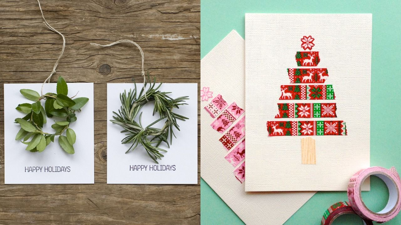 22 best diy christmas card ideas 2020 cute diy holiday cards 22 best diy christmas card ideas 2020