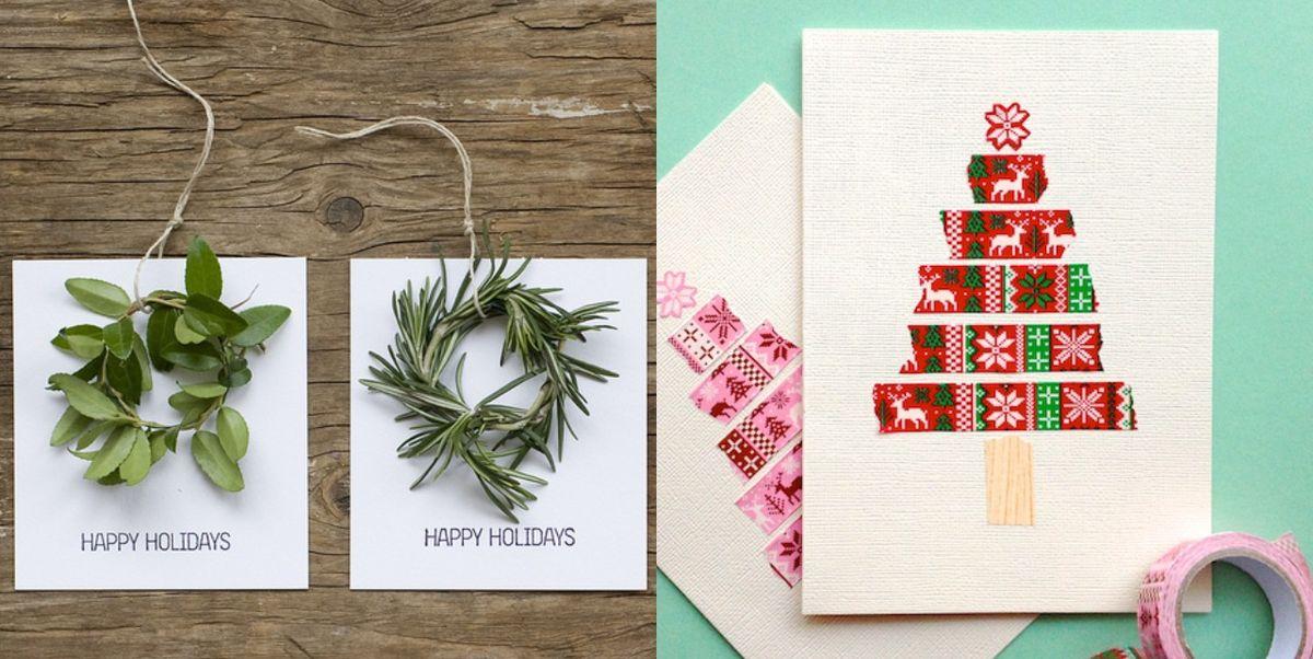22 Best Diy Christmas Card Ideas 2020 Cute Diy Holiday Cards