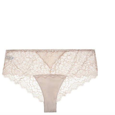 Undergarment, Briefs, Lingerie, Clothing, Beige, Underpants, Lace, Meadow, Bikini,