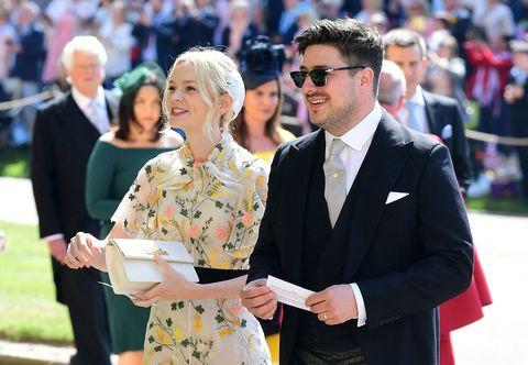 Carey Mulligan at the royal wedding