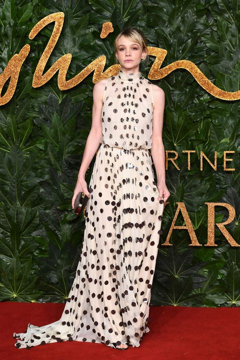 Carey Mulligan, Fashion Awards 2018
