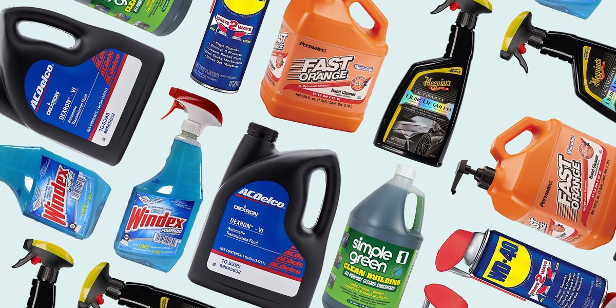Keep These 13 Fluids in Your Garage to Be Ready for Anything