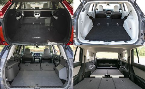 the best compact suvs and crossovers for hauling cargo feature car and driver. Black Bedroom Furniture Sets. Home Design Ideas