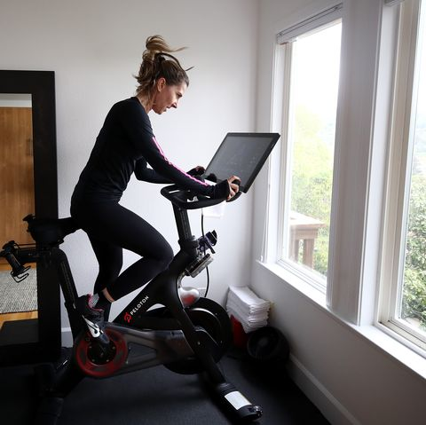 peloton stock goes up as home workouts increase
