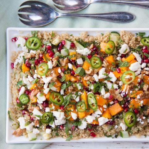 caribische salade quinoa