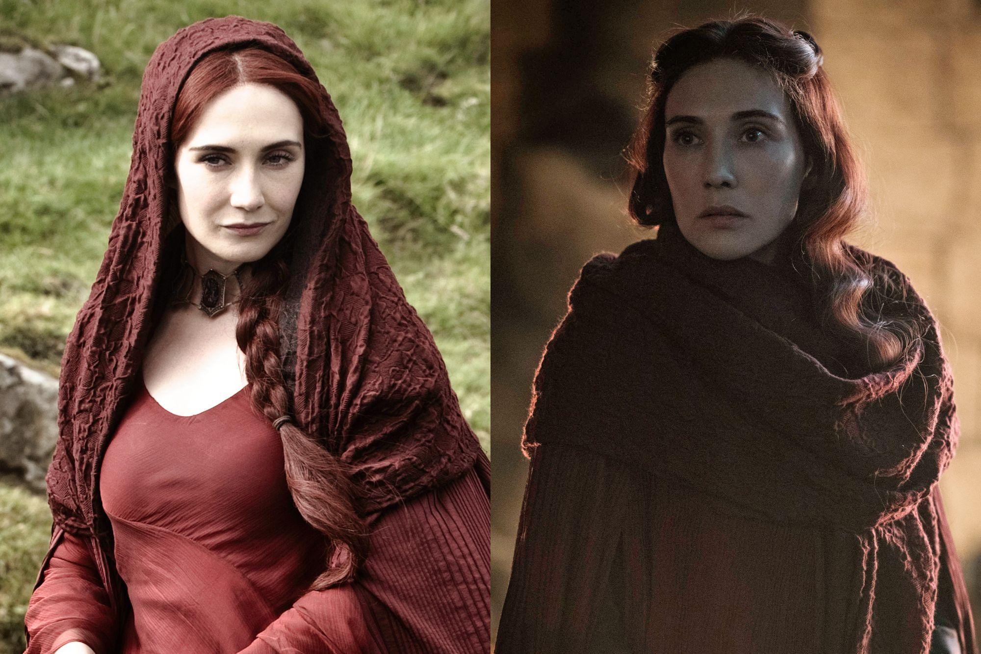Carice van Houten as Melisandre Season Two to Season Eight.