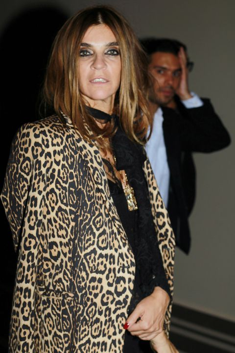 Carine Roitfeld Leopard Fashion