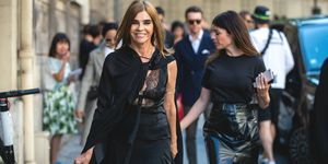 Carine Roitfeld carrierelessen  Valentino Paris Fashion Week - Haute Couture Fall/Winter 2019/2020