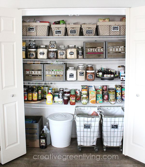 20 Clever Pantry Organization Ideas and Tricks , How to