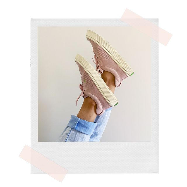 pink cariuma sneakers