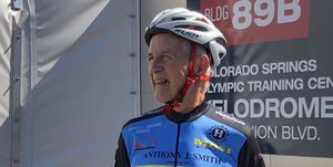 91-year-old cyclist breaks two world records
