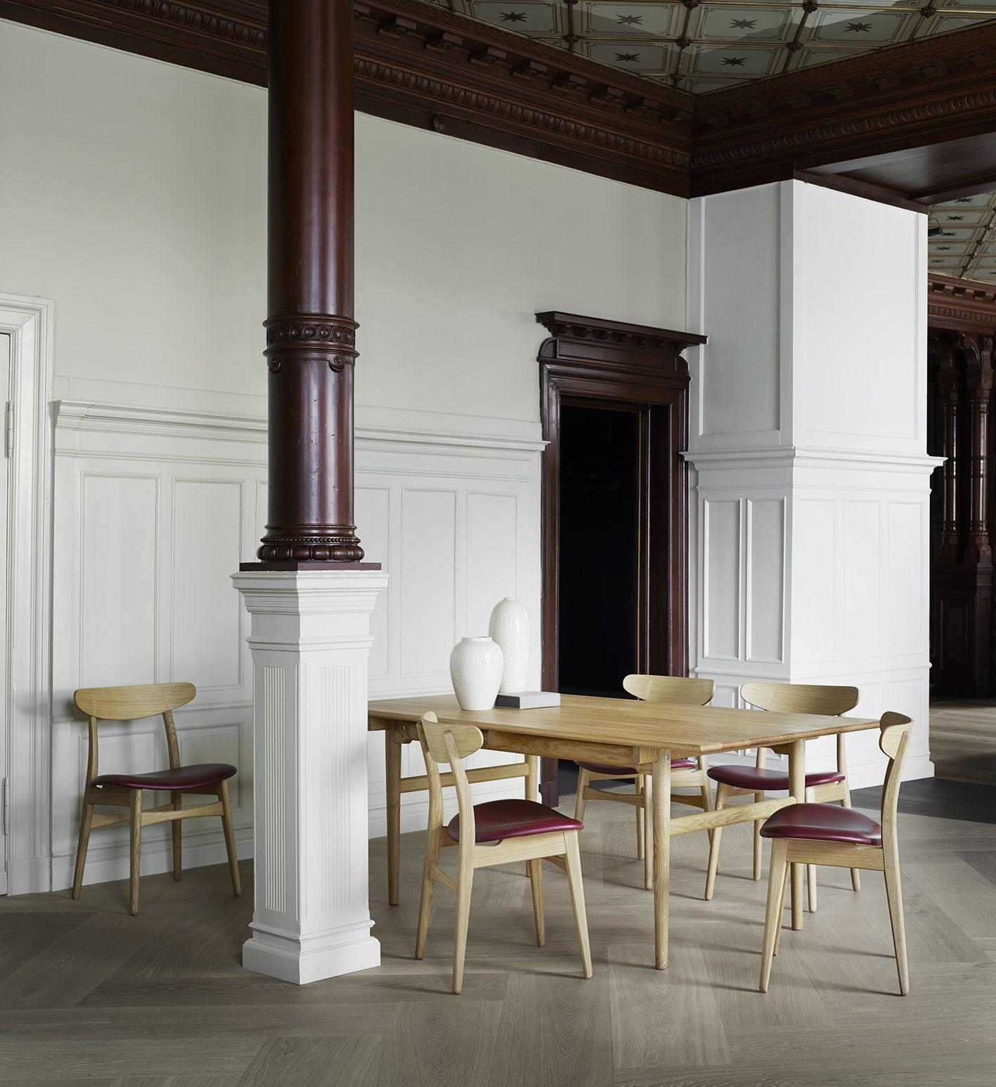 Mesas de comedor iconos del diseño