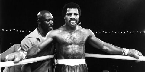 """actor carl weathers on set of the united artist movie """"rocky ii"""" in 1979  photo by michael ochs archivesgetty images"""