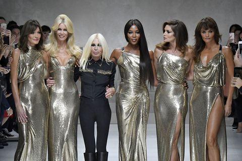 versace   runway   milan fashion week springsummer 2018