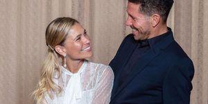 Carla Pereyra y Diego Simeone formalizan su relación por medio de una boda civil secreta y de lo más íntima.
