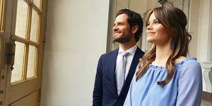 Carlos Felipe y Sofía de Suecia