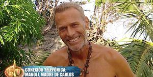 Carlos Lozano en Supervivientes