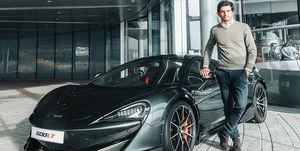 McLaren 600LT - Carlos Sainz