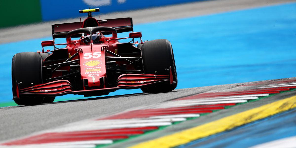 Carlos Sainz prevé problemas para Ferrari en Silverstone