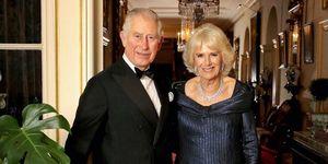 Carlos de Inglaterra y Camila en la fiesta del 70 cumpleaños del príncipe heredero