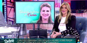 Carlota Corredera habla de su nuevo libro